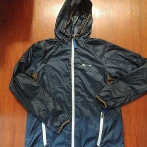 NWOT Marmot boys size XL lightly lined jacket Blue